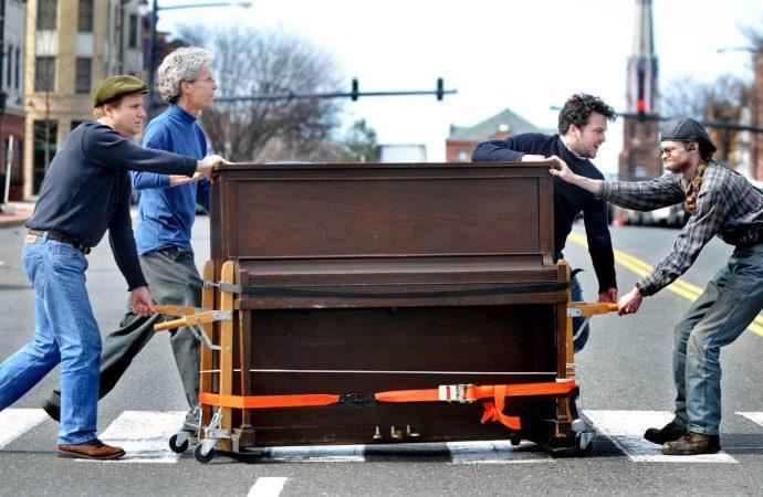 Comment transporter un piano lors d'un déménagement?